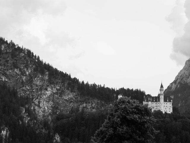 Neuschwanstein castle bavaria germany, architecture buildings.