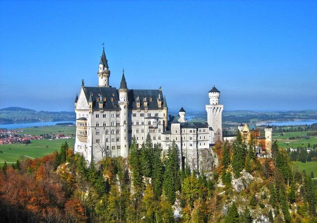 Neuschwanstein castle castle kristin, architecture buildings.