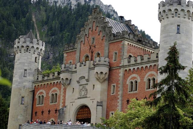 Neuschwanstein castle castle neuschwanstein, places monuments.