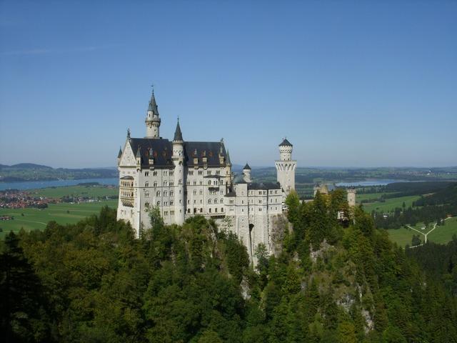 Neuschwanstein castle fairy castle castle.