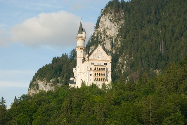 Neuschwanstein castle germany.