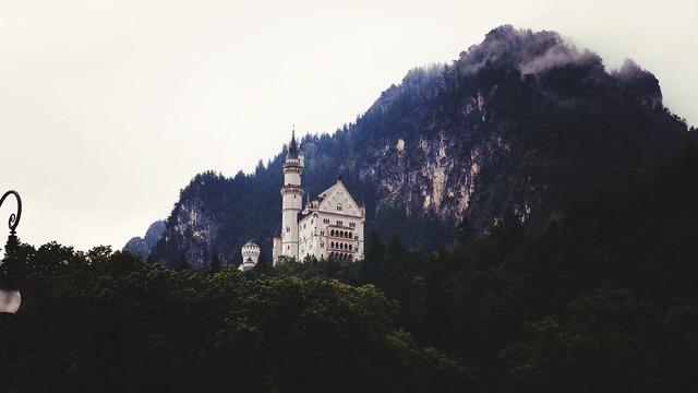 Neuschwanstein castle germany, architecture buildings.