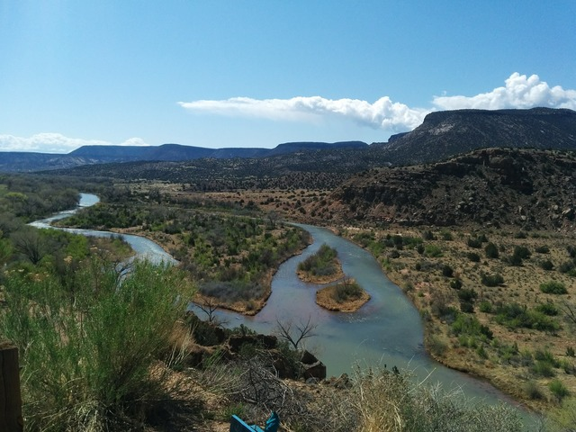 New mexico river chama river, nature landscapes.