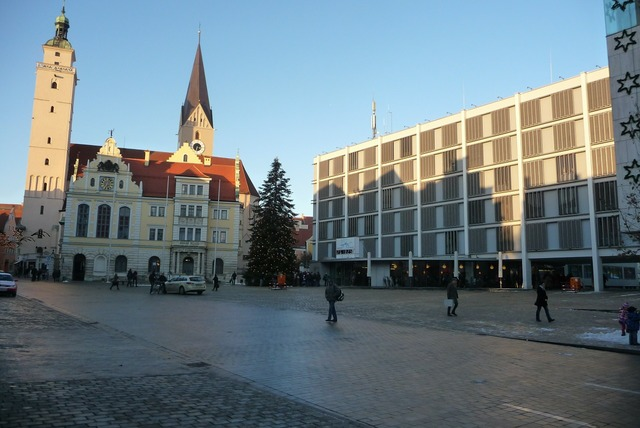 New old town hall, architecture buildings.