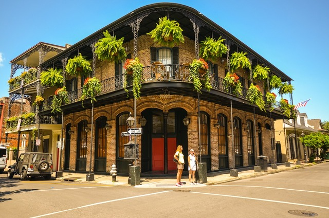 New orleans louisiana usa, architecture buildings.