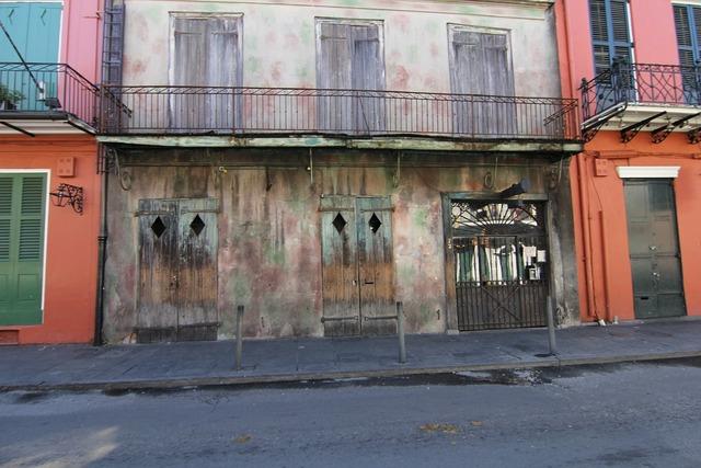 New orleans nola derelict, architecture buildings.