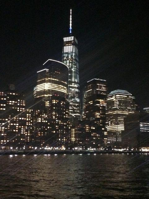 New york at night night.