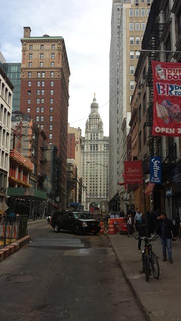 New york cosmopolitan city 1wtc.