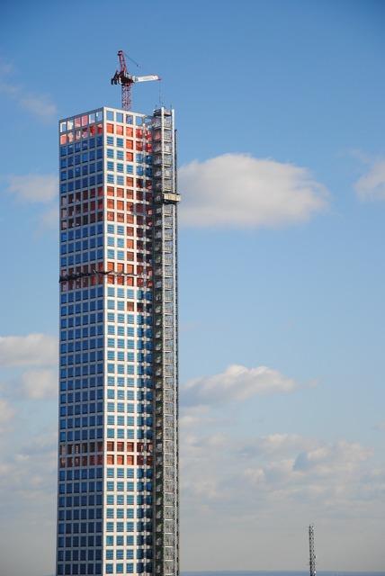 New york crane building, architecture buildings.