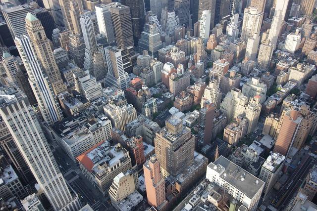 New york gratte ciel empire state building.