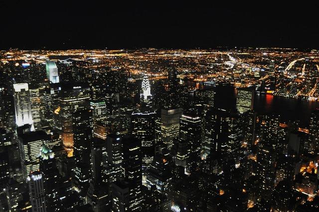 New york manhattan, architecture buildings.
