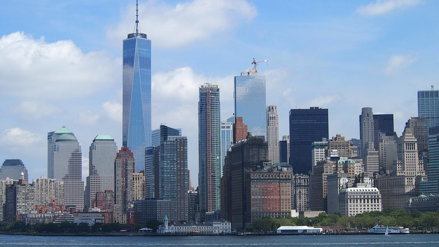 New york skyline new york city.