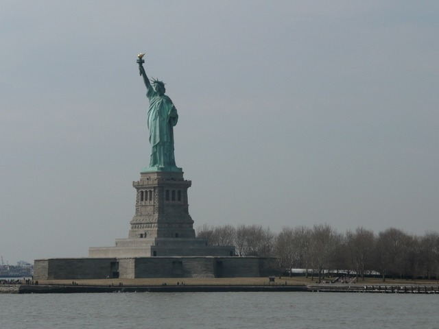 New york statue of liberty ellis island, travel vacation.