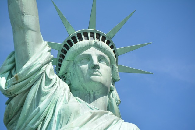 New york statue of liberty freedom.