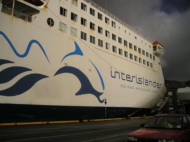 New zealand interislander ferry.