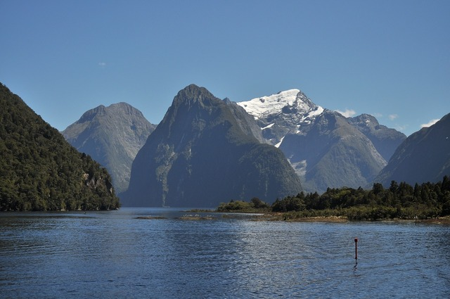New zealand milford sound south island, music.