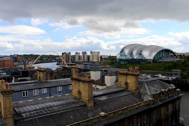 Newcastle say gateshead england, architecture buildings.