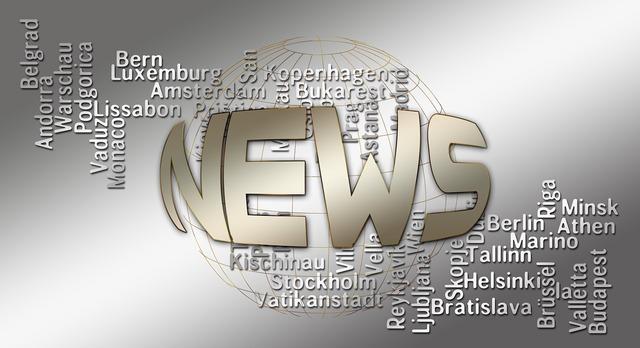 News press headlines, computer communication.