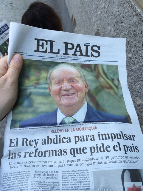 Newspaper news spain.