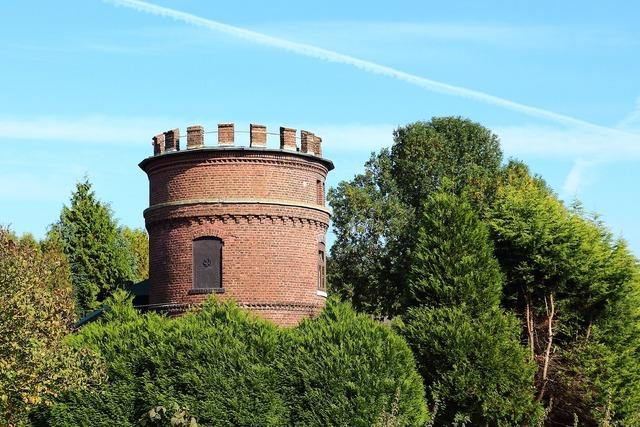 Niederzier tower watchtower, architecture buildings.