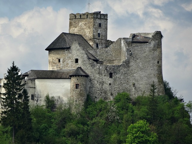 Niedzica poland castle, places monuments.