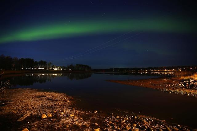 Night himmel sweden.