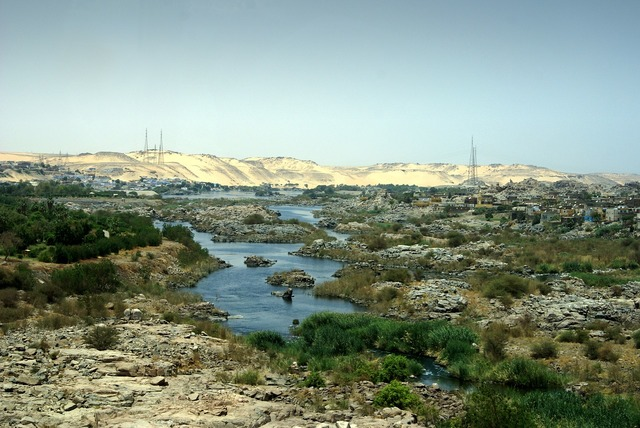 Nile river egypt.