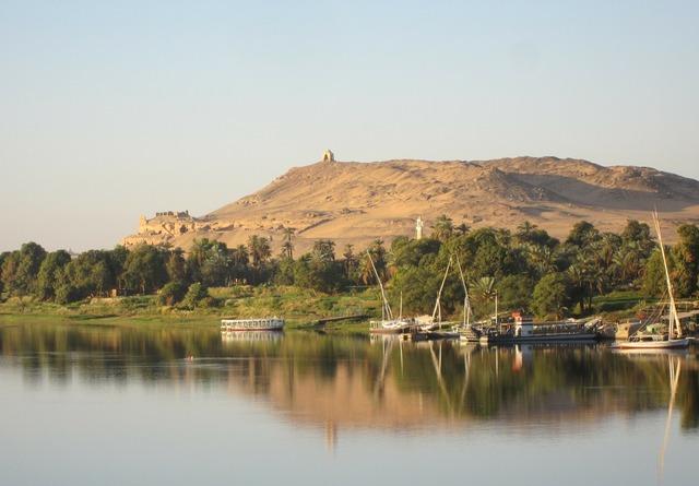 Nile river nile riverside.