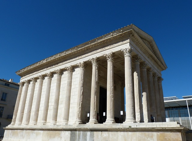 Nimes france south of france, religion.