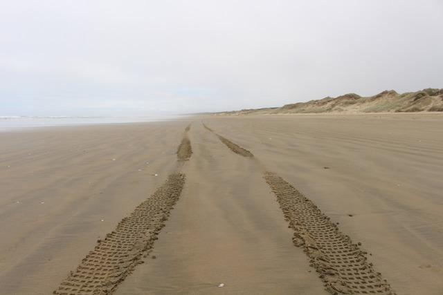 Ninety mile beach new zealand cape reinga, travel vacation.