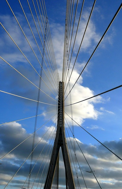 Normandy bridge seine architecture, architecture buildings.