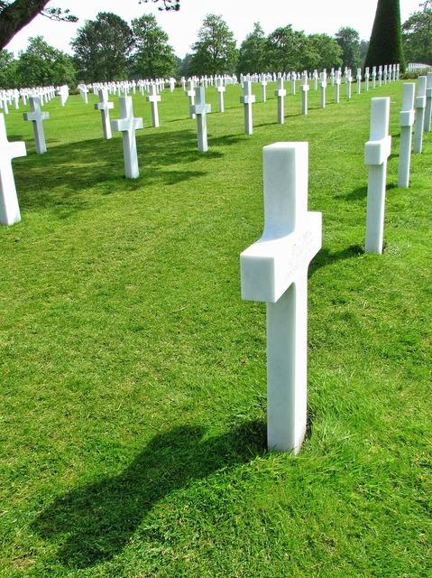 Normandy cemetery american.