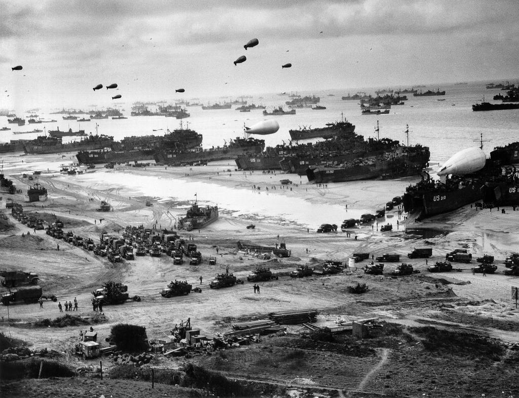 Normandy supply world war ii.