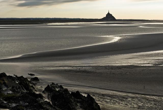 Normandy vain mont saint michel, travel vacation.