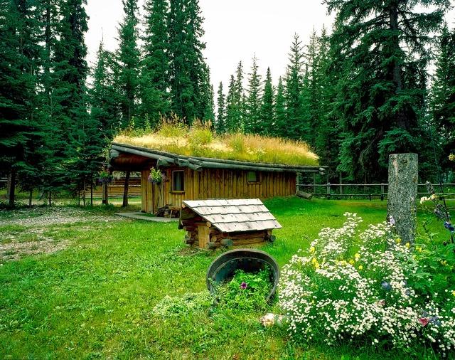 North pole alaska village, nature landscapes.