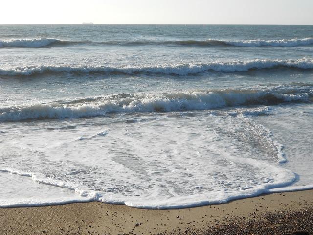 North sea beach denmark, travel vacation.