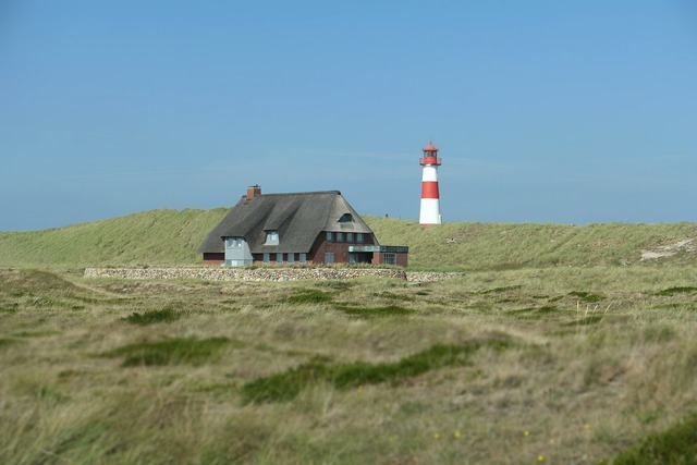 North sea sylt lighthouse, architecture buildings.