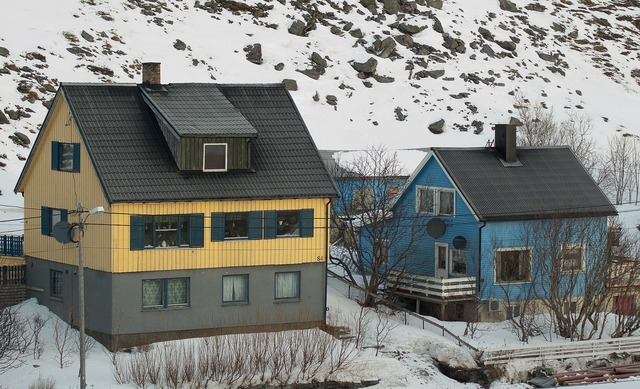 Norway lapland fisherman's house.