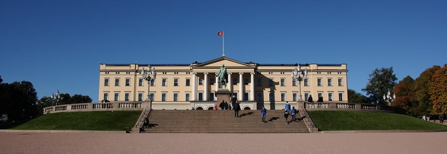 Norway oslo royal, architecture buildings.