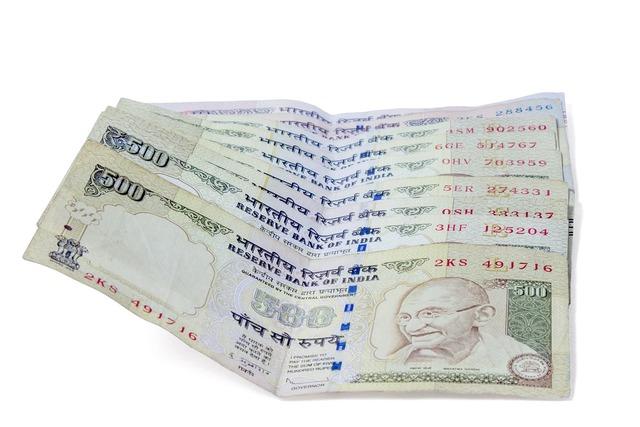 Notes cash money, business finance.