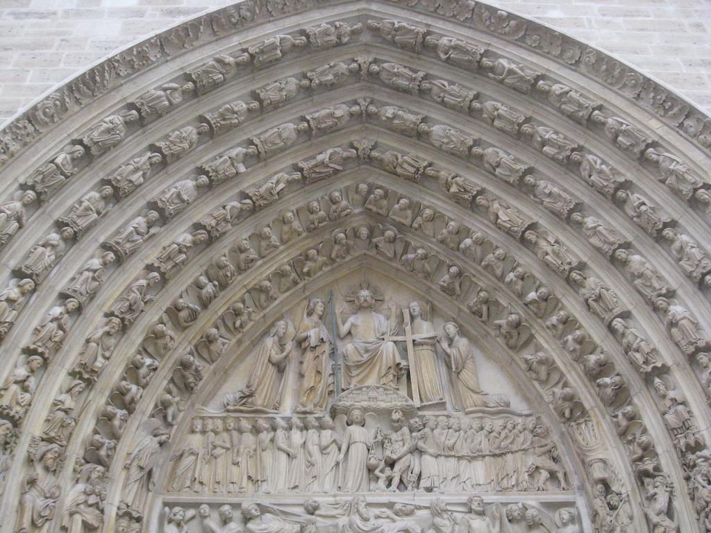 Notre dame arch paris, architecture buildings.