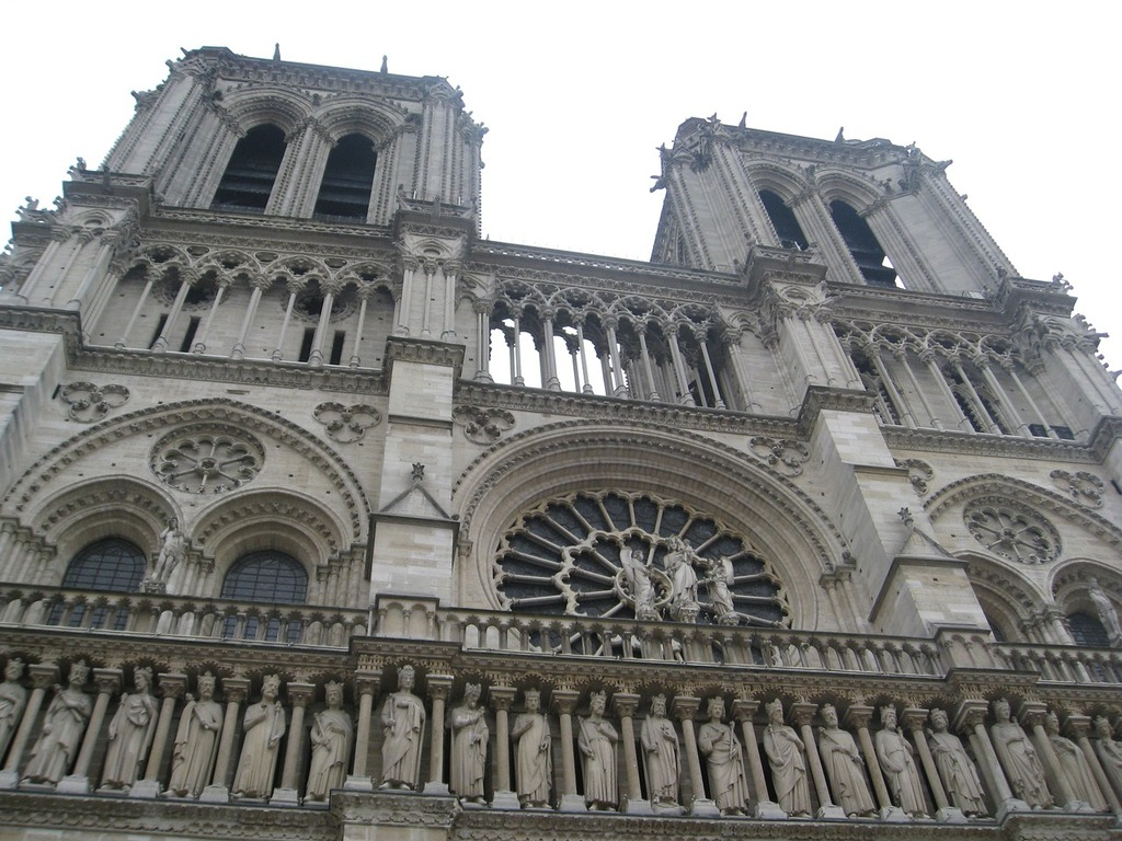 Notre dame cathedral paris, architecture buildings.