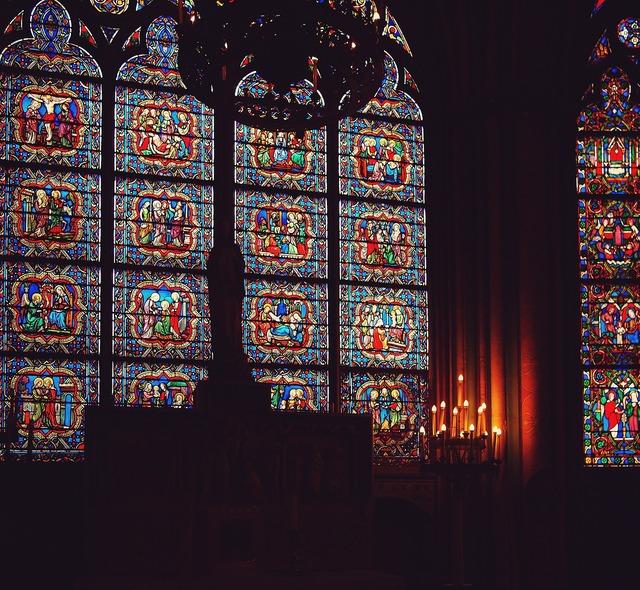 Notre dame cathedral paris france, religion.