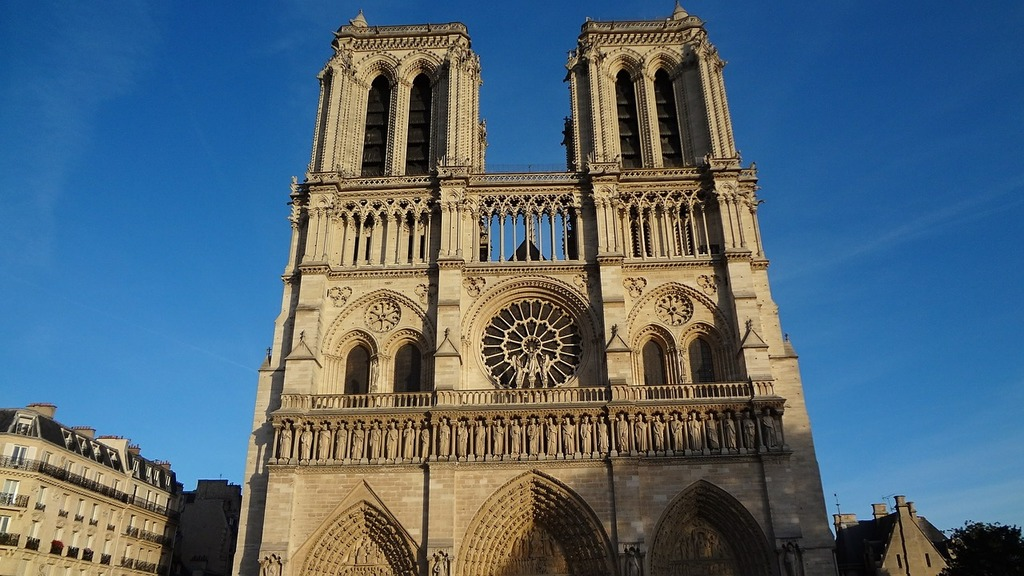 Notre dame france cathedral.