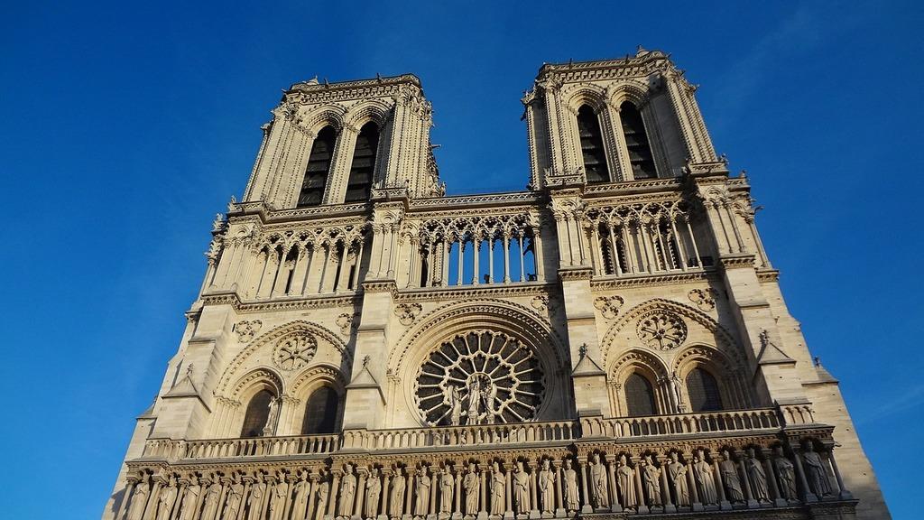 Notre dame paris cathedral.