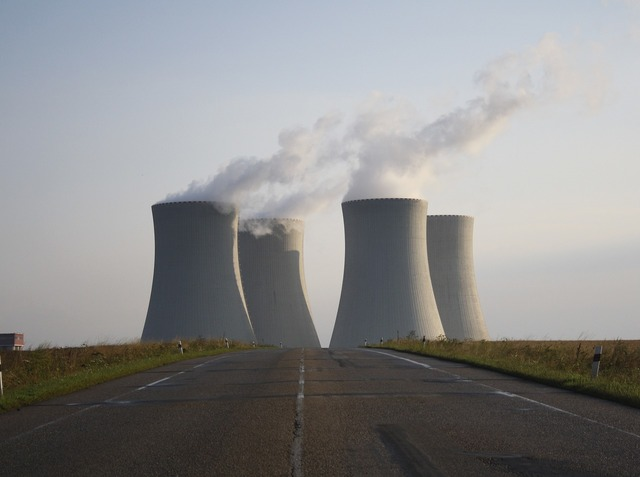 Nuclear power plant nuclear reactor nuclear, science technology.
