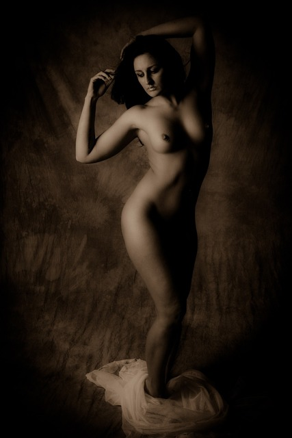 Nude women boudoir, beauty fashion.