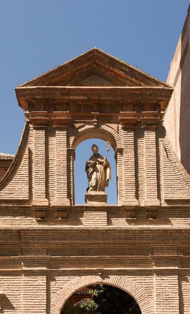 Nuestra señora de las angustias monastery bishop, architecture buildings.