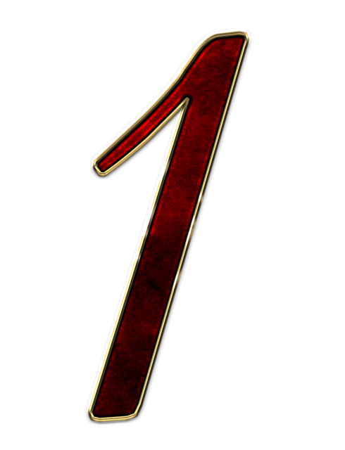 Number 1 one, backgrounds textures.