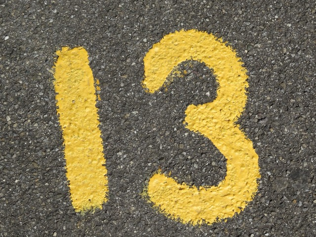 Number ad yellow, transportation traffic.